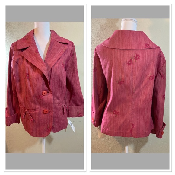 Bandolino Jackets & Blazers - Bandolino Women's Dress Jacket 3/4 Sleeves SZ 22W